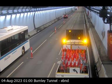 Burnley Tunnel, VIC (East)