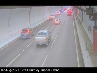 Burnley Tunnel, VIC (East)