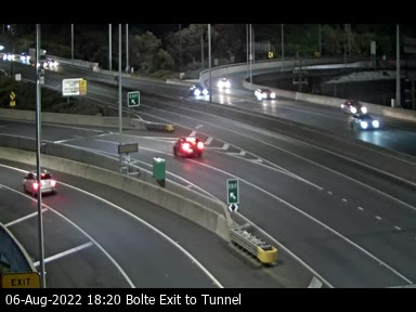 Bolte Exit to Tunnel